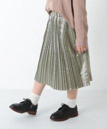 devirock/サテンプリーツスカート/503465893