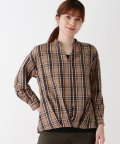 SHOO・LA・RUE/【M-LL/2点セット】チェックシャツ+タンクトップ/503467437