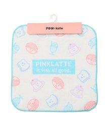 PINK-latte/プリントハンドタオル/503468803