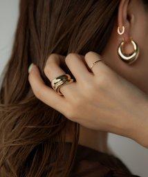marjour/WIDE WAVE 4SET RING/503469003