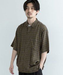 URBAN RESEARCH/MANUAL ALPHABET TENCEL CHECK O/C SHIRTS/503470089