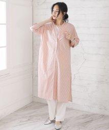 Girly Doll/サイドスリットシャツワンピース/503425983