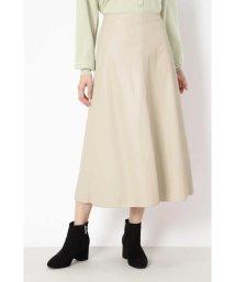 NATURAL BEAUTY BASIC/フェイクレザースカート/503459439
