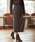 BOSCH/◆ウールサキソニーセットアップスカート/503470931
