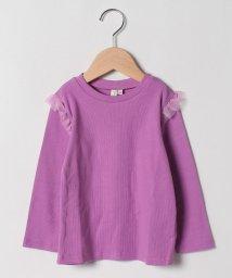 LAGOM/【lagom】肩チュール付長袖Tシャツ/503460052