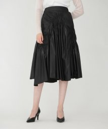 LOVELESS WOMEN/ギャザー タフタ スカート/503404102