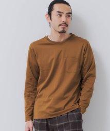 green label relaxing/CSM オーガニック クリア クルーネック 長袖 カットソー/503422548