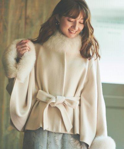 Noela/【美人百花11月号掲載】ポンチョコート /503475566