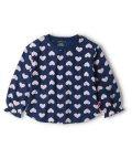 moujonjon/【子供服】 moujonjon (ムージョンジョン) ハート柄Tシャツ 80cm~140cm M52826/503481614