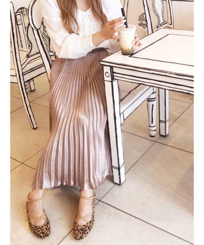 【61%OFF】 エスペランサ クロスストラップバレエ レディース ヒョウ柄(108) 40(24.0cm) 【ESPERANZA】 【セール開催中】
