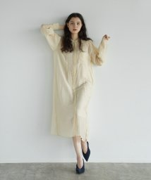 FIKA./TODAYFUL Sheer Shirts Dress/503483686