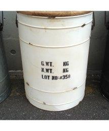 RM STORE/隠せる、座れる便利なドラム缶風ボックススツール【タブレビドン・ボックススツール】/503484563