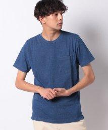 nano・universe/:インディゴクルーネックTシャツ SS/503103885