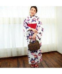 RM STORE/Fashion Berry レディース浴衣3点セット/浴衣・作り帯・下駄/503485227