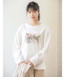 fifth/グラフィックプリントロングスリーブTシャツ/503488949