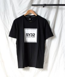 realize/【73】【it】【SY32 by SWEET YEARS】SQUARE LOGO T/503490444