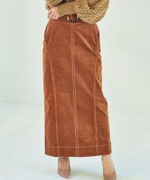 Cherie Mona/コーデュロイステッチスカート/503477193