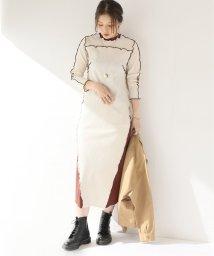 JOURNAL STANDARD relume/【NOMA t.d.】 Rib Long DRESS:ワンピース/503492789