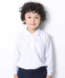 devirock/男児長袖ポロシャツ/503488343