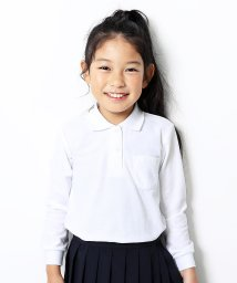 devirock/女児長袖ポロシャツ/503488346