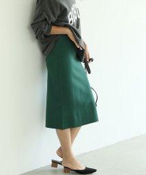 coca/Iラインタイトニットスカート/503206184