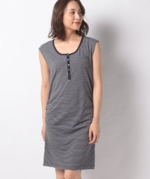 Eddie Bauer OUTLET/HENLEY STRIPE DRESS/503478136