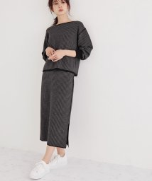 ROPE'/【WEB限定】【20AW】8WAY千鳥柄ニットセットアップ/503496933