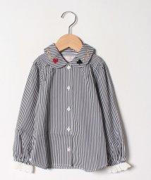 ShirleyTemple/トランプロゴ刺繍ブラウス(100cm)/503483568