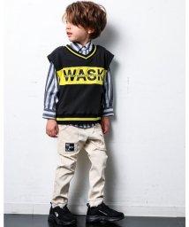 WASK/ネーム ツキ ストレッチ ロング ブッシュ パンツ (140cm~160cm)/503499623