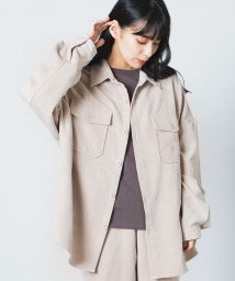 WEGO/【セットアップ対応商品】コーデュロイCPOシャツ/503375199