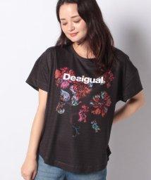 Desigual/Tシャツ TEE OVERSIZE PATCH/503467777