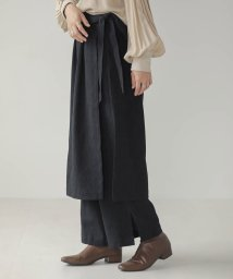 Bou Jeloud/【WEB限定】ラップスカートT付キジャガードパンツ/503487739