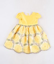 BeBe/シルデュー サテン チュール ひまわり 刺? ドレス (100cm~140cm)/503492417