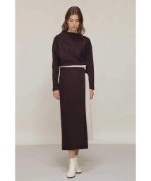 BOSCH/◆ミルドスムースセットアップスカート/503505257