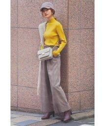 PROPORTION BODY DRESSING/ラメチェックワイドパンツ/503505294
