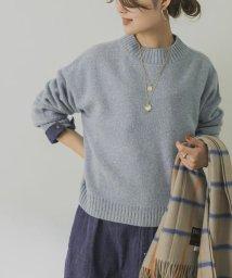 URBAN RESEARCH/【予約】カシミヤ混メランジショート丈ニット/503507801