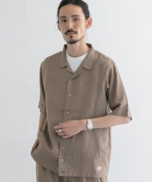URBAN RESEARCH/Vincent et Mireille LINEN OPEN COLLAR SHIRTS/503507809