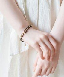 Phoebe/ハンサムチェーンカラーブレスレット ブラック/503481907