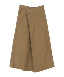 miette/ラップデザインAラインロングスカート/503505637