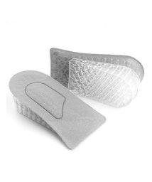 shoppinggo/シークレットインソール 中敷き かかと用 こっそり身長アップ 衝撃吸収 3段階調整 サイズ調整可能 メンズ レディース 靴インソール/503508716