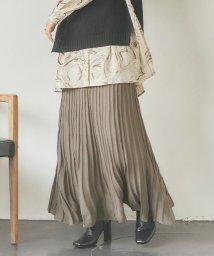 titivate/ランダムプリーツニットスカート/503509210