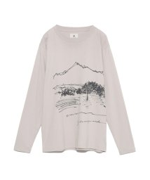 OTHER/【emmi×Snowpeak】CF Graphic Long Sleeve Tee/503509400