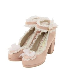 LODISPOTTO/Angel Ribbonパンプス / mille fille closet/503463038