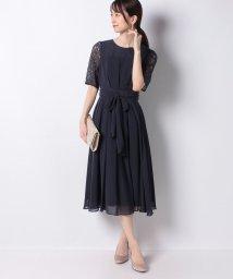 PROPORTION BODY DRESSING/LLデコルテレースドレス/503477771