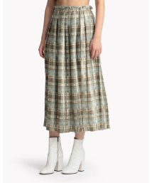 Theory Luxe/スカート BRUSHED PLAID PRIN PENNEL/503199517
