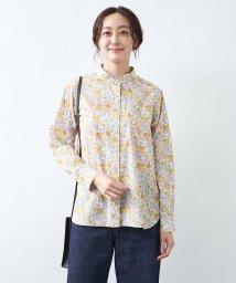 collex/【LIBERTY /リバティ】Wスタンドカラーシャツ/503515430