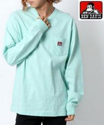 MARUKAWA/【新色追加】【BEN DAVIS】ベンデイビス 無地 ポケット 長袖Tシャツ ロンT/502545357