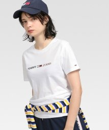 TOMMY JEANS/フラッグロゴTシャツ/503505968
