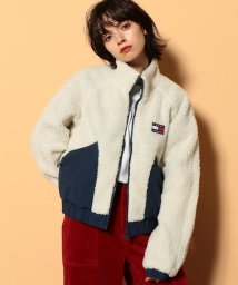 TOMMY JEANS/リバーシブルシェルパジャケット/503505969