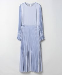 LANVIN en Bleu/サテン素材マキシワンピース/503511992